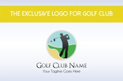 Golf Club Logo Template Product Image 1