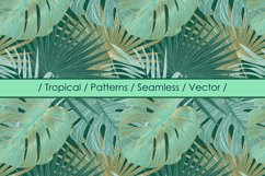 Tropical vector patterns Product Image 1