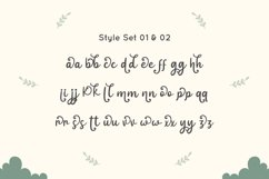 Intima Politha - Script Font Product Image 5
