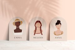 8 Vector Abstract Woman Portraits Product Image 4
