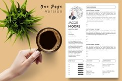 Creative Resume CV Bundle for Word & Pages Jacob Moor Product Image 3