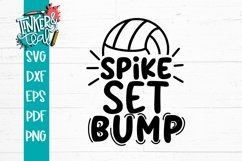 Bump Set Strike Volleyball SVG Product Image 2