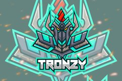 Tronzy Robot Esport Gaming Logo Product Image 1