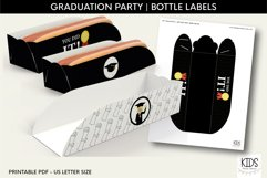 Graduation party Hot dog tray, class of 2021 printable decor Product Image 1