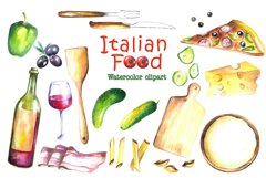 Food Watercolor Clip Art Product Image 2