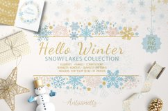 Sparkling snowflakes collection Product Image 1