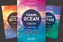 Summer Ocean Flyer Product Image 1