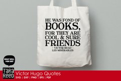 Victor Hugo Quotes from Les Miserables - SVG & Cut Files Product Image 2