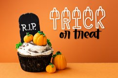 LUMPKINS - A Silly Word Art Halloween Font Product Image 2