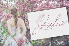 Peony script display font Product Image 5