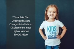 Kids T-Shirt Mock-Up Vol 3 Product Image 2