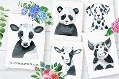 Monochrome Animals and Rainbows Product Image 5