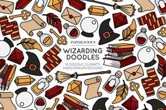 Wizarding Doodle Cliparts Bundle Product Image 2