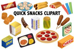 Quick Snack Clipart Product Image 1
