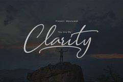 Clarity Script Product Image 1