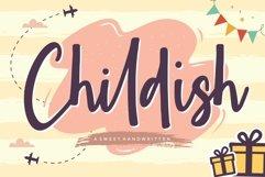 Childish Sweet Handwritten Font Product Image 1