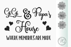 Gigi and Papa's House SVG PNG JPG DXF Product Image 2