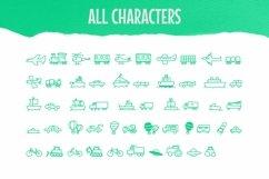 Web Font Child Transport Dingbats Font Product Image 3
