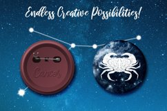 Cancer Zodiac, Constellation, Horoscope Pack Product Image 3