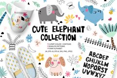 Cute elephant collection Product Image 1
