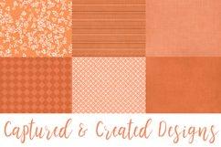 18 Richly Orange Digital Paper Pack Product Image 3