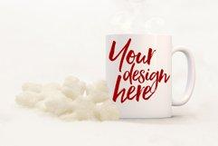 Winter mug mock-up bundle - 8 jpeg mockups Product Image 3