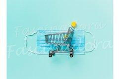 Coronavirus and shopping concept Product Image 1