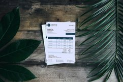 Event Styling Invoice template, 4 Styles Canva Template Product Image 5