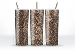 20oz and 30oz TAPERED Skinny Tumbler Sublimation, Gold Product Image 4