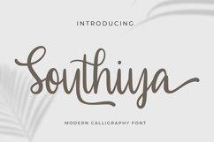 Southiya - Modern Calligraphy Font Product Image 1