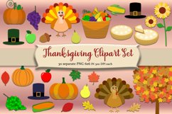 Thanksgiving Clipart Pack Product Image 1