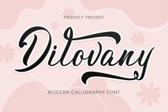 Dilovany Script Product Image 1
