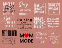 Mom Life SVG Bundle - Mom Bundle - Mothers Day Bundle SVG Product Image 2