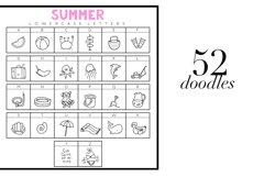 Summer Break / Summer Doodle Font  Product Image 3