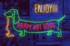 Night Light Neon Font - Compressed Product Image 2