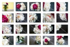 Bouquet of white and pink peonies Photo Bundle Product Image 3