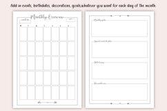 Printable Bullet Journal - Planner Bundle - Planner Kit, PDF Product Image 3