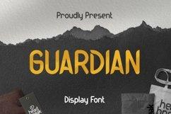 Web Font Guardian Font Product Image 1