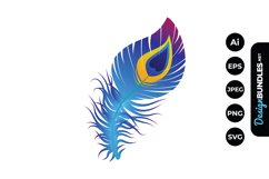 Peacock Feathers Illustrations Product Image 1