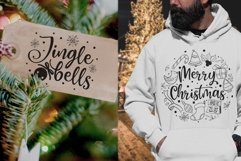 Christmas quotes SVG | Cut files | SVG PNG JPG PDF DXF Product Image 3