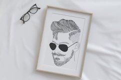 Wall art - modern man fashion Product Image 3