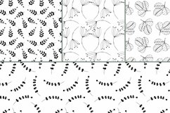 Botanical Seamless patterns Product Image 2