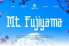 Web Font Hideaki Font Product Image 2