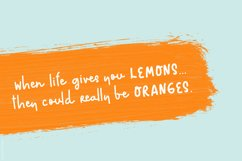Rushi Orange Font Product Image 2