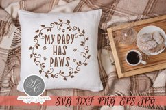 My Baby Has Paws SVG Product Image 6