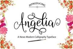 Web Font Angelia Product Image 1