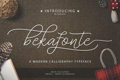 Bekafonte Typeface Product Image 1
