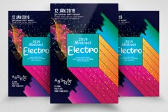 Electro Party Flyer Product Image 1