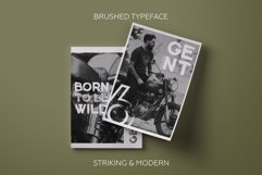 Gent. Display brushed typeface. Striking and modern. Product Image 5