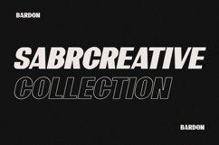 10 Font - Bardon Font Family Product Image 3